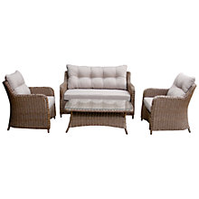 Buy Leisuregrow Siagon Heritage Weave Lounging Set Online at johnlewis.com