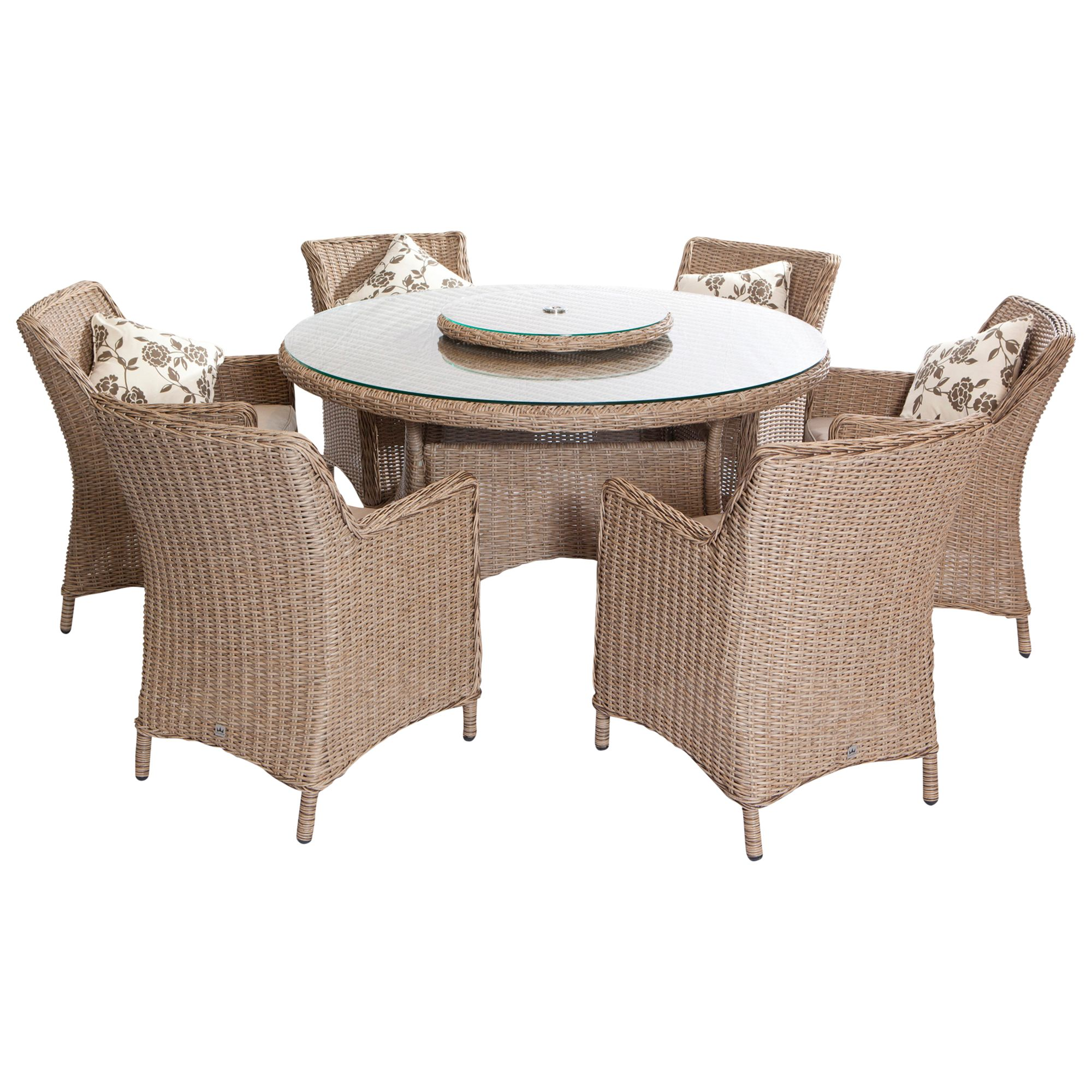 Leisuregrow Saigon 6-Seater Dining Set