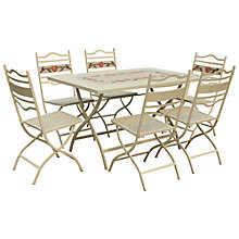 Buy Leisuregrow Claremont 6-Seater Dining Set Online at johnlewis.com
