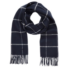 Buy Mulberry Double Faced Check Scarf Online at johnlewis.com