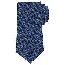 Buy Ted Baker Geometric Print Silk Tie Online at johnlewis.com