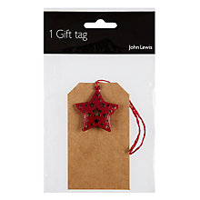 Buy Jlluxury Metal Star Trim Tag Online at johnlewis.com