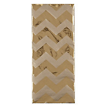 Buy John Lewis Foil Chevron Tissue Online at johnlewis.com