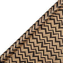 Buy John Lewis Copenhagen Kraft Chevron Gift Wrap, 3m Online at johnlewis.com