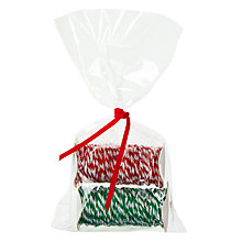 Buy John Lewis Raffia, Red/Green, Pack of 2, 2m Online at johnlewis.com