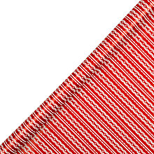 Buy John Lewis Red Wavy Stripe Wrapping Paper, 3m Online at johnlewis.com