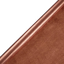 Buy John Lewis Kraft Gift Wrap, 5m, Copper Online at johnlewis.com
