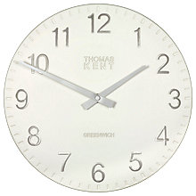 Buy Thomas Kent Cotswold Clock, Snowberry, Dia.30cm Online at johnlewis.com