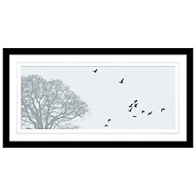 Buy Jacky Al-Samarraie - Migration Framed Print, 44 x 84cm Online at johnlewis.com