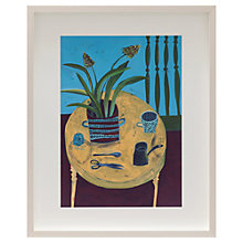 Buy Este Macleod - Red Hot Pokers Framed Print, 52 x 42cm Online at johnlewis.com