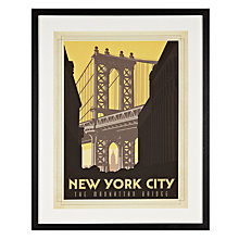 Buy Anonymous - New York City Framed Print, 65 x 52cm Online at johnlewis.com