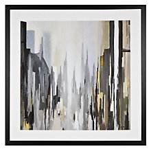 Buy Gregory Lang - Cathedral Neutral Frameds Print , 86 x 86cm Online at johnlewis.com