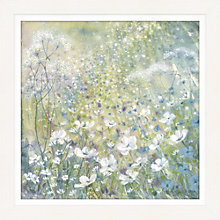 Buy Catherine Stephenson - Floral Dream Print on Canvas, 88 x 88cm Online at johnlewis.com