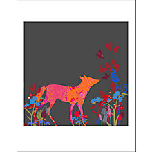 Buy House by John Lewis, Tiffany Lynch - Foxy For Get Me Not Unframed Print, 40 x 30cm Online at johnlewis.com
