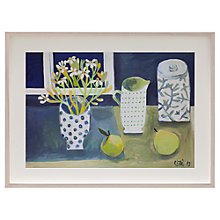 Buy Este Macleod - Pears with Jug Framed Print, 52 x 47cm Online at johnlewis.com