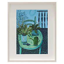 Buy Este Macleod - Summer Day with Watering Can Framed Print, 70 x 52cm Online at johnlewis.com