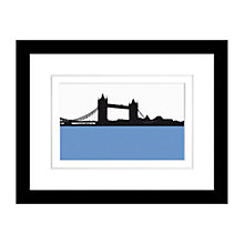 Buy Jack Al-Samarraie Tower Bridge Framed Print,  34 x 44cm Online at johnlewis.com