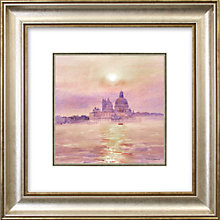 Buy Stan Kaminski - Della Sute Sunset Framed Print, 53 x 53cm Online at johnlewis.com