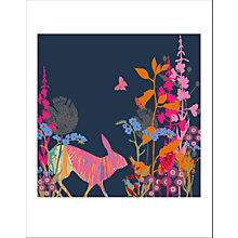 Buy House by John Lewis Tiffany Lynch - Forget Me Not Hare Unframed Print, 40 x 30cm Online at johnlewis.com