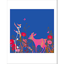 Buy House by John Lewis, Tiffany Lynch - Little Bird & Deer Sky Unframed Print, 40 x 30cm Online at johnlewis.com