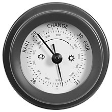 Buy Garden Trading Barometer, Dia.12.5, Charcoal Online at johnlewis.com