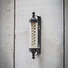 Buy Garden Trading Company Tube Thermometer, Small, Charcoal Online at johnlewis.com
