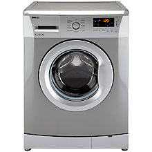 Buy Beko WMB71231S Freestanding Washing Machine, 7kg Load, A+ Energy Rating, 1200rpm Spin, Silver Online at johnlewis.com