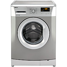 Buy Beko WMB61431S Freestanding Washing Machine, 6kg Load, A+ Energy Rating, 1400rpm Spin, Silver Online at johnlewis.com