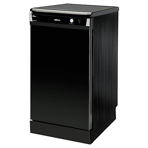Buy Beko DSFS1531B Slimline Dishwasher, Black Online at johnlewis.com