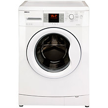 Buy Beko WMB81241LW Washing Machine, 8kg Load, A+ Energy Rating, 1200rpm Spin, White Online at johnlewis.com