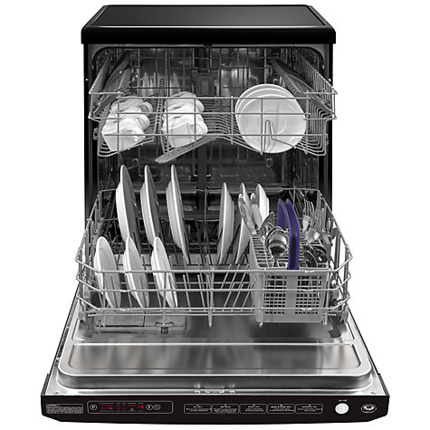 Buy Beko DSFN1534B Freestanding Dishwasher, Black Online at johnlewis.com