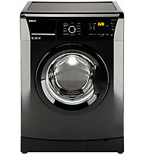 Buy Beko WMB61431B Washing Machine, 6kg Load, A+ Energy Rating, 1400rpm Spin, Black Online at johnlewis.com