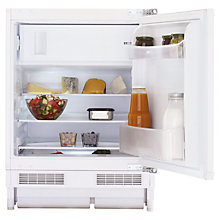 Buy Beko BR11 Integrated Undercounter Fridge with Freezer Compartment, A+ Energy Rating, 60cm Wide Online at johnlewis.com
