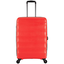 Buy Antler Juno 4-Wheel 68cm Medium Suitcase, Red Online at johnlewis.com