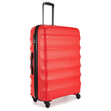Buy Antler Juno 4-Wheel 79cm Large Suitcase Online at johnlewis.com