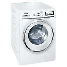 Buy Siemens WM14Y591GB Freestanding Washing Machine, 8kg Load, A+++ Energy Rating, 1400rpm Spin Speed, White Online at johnlewis.com