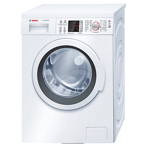buy bosch waq284s0gb freestanding washing machine 8kg. Black Bedroom Furniture Sets. Home Design Ideas