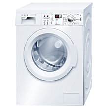 Buy Bosch WAQ283S1GB Washing Machine, 8kg Load, A+++ Energy Rating, 1400rpm Spin, White Online at johnlewis.com