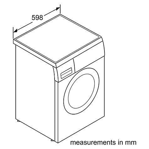 Buy Bosch WAQ283S1GB Freestanding Washing Machine, 8kg