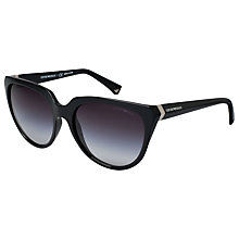 Buy Emporio Armani EA4027 Cat's Eye Acetate Sunglasses Online at johnlewis.com
