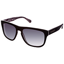 Buy Dolce & Gabanna 0DG4222 2803T3 Square Lens Sunglasses, Black Online at johnlewis.com