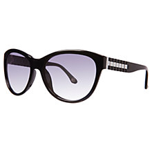 Buy Michael Kors Ml2885S Olivia Sunglasses, Black Online at johnlewis.com