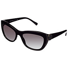 Buy Giorgio Armani Cat's Eye Thick Frame Sunglasses Online at johnlewis.com