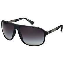 Buy Emporio Armani EA4029 Square Sunglasses Online at johnlewis.com