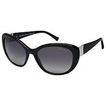 Buy Giorgio Armani AR8030H Cat's Eye Sunglasses, Black Online at johnlewis.com