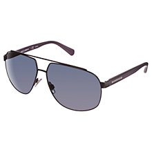 Buy Dolce & Gabanna DG2138 Irregular Aviator Metal Frame Sunglasses Online at johnlewis.com
