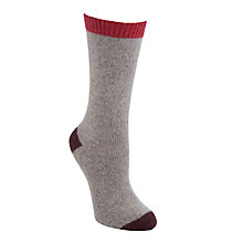 Buy John Lewis Wool Silk Ankle Socks Online at johnlewis.com