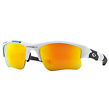 Buy Oakley OO9009 Flak Jacket XLJ Sunglasses Online at johnlewis.com