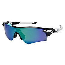 Buy Oakley OO9181 Radarlock Sunglasses Online at johnlewis.com