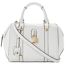 Buy Dune Daylock Padlock Bowler Handbag Online at johnlewis.com